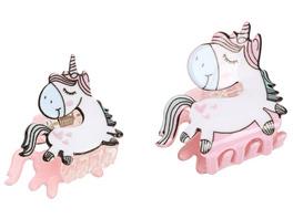 Haarspangen-Set - Unicorn Family