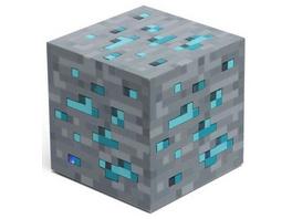 Minecraft Nachtlicht Diamant
