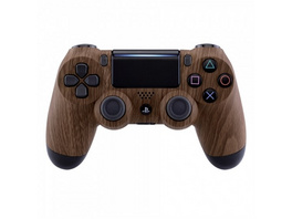 PS4 Dualshock Rebuilt Controller Holz (Softtouch)