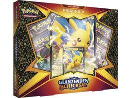 Pokémon Sammelkartenspiel: Schwert & Schild 04.5 Pikachu-V Box
