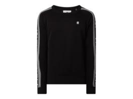 Sweatshirt mit Kontraststreifen