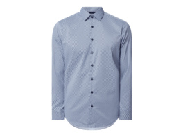 Regular Fit Business-Hemd mit Stretch-Anteil