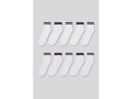 Multipack 10er - Socken - Bio-Baumwolle