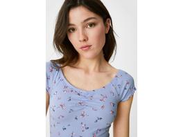 CLOCKHOUSE - T-Shirt - geblümt