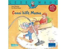 LESEMAUS 52: Conni hilft Mama