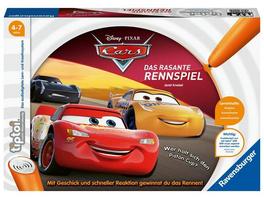 Ravensburger 00021 - tiptoi® Disney CarsDas rasante Rennspiel
