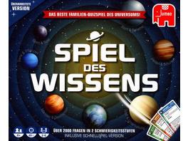 Jumbo 19498 - Spiel des Wissen, mit Schnellspiel-Variante, Familienspiel, Quizspiel
