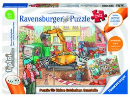 Puzzle für kleine Entdecker: Baustelle (Kinderpuzzle)